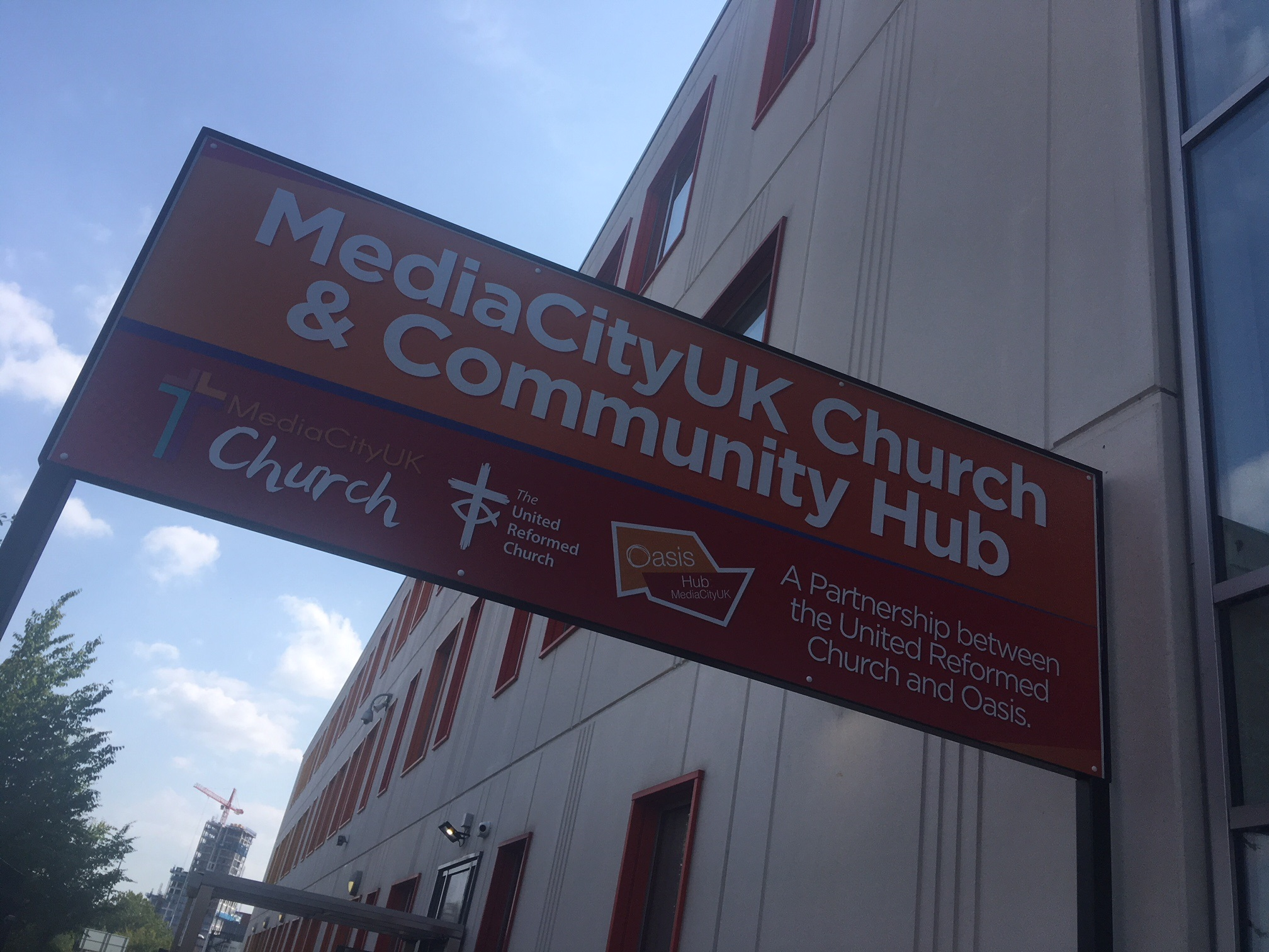Celebrations as new community centre and church opens in Salford