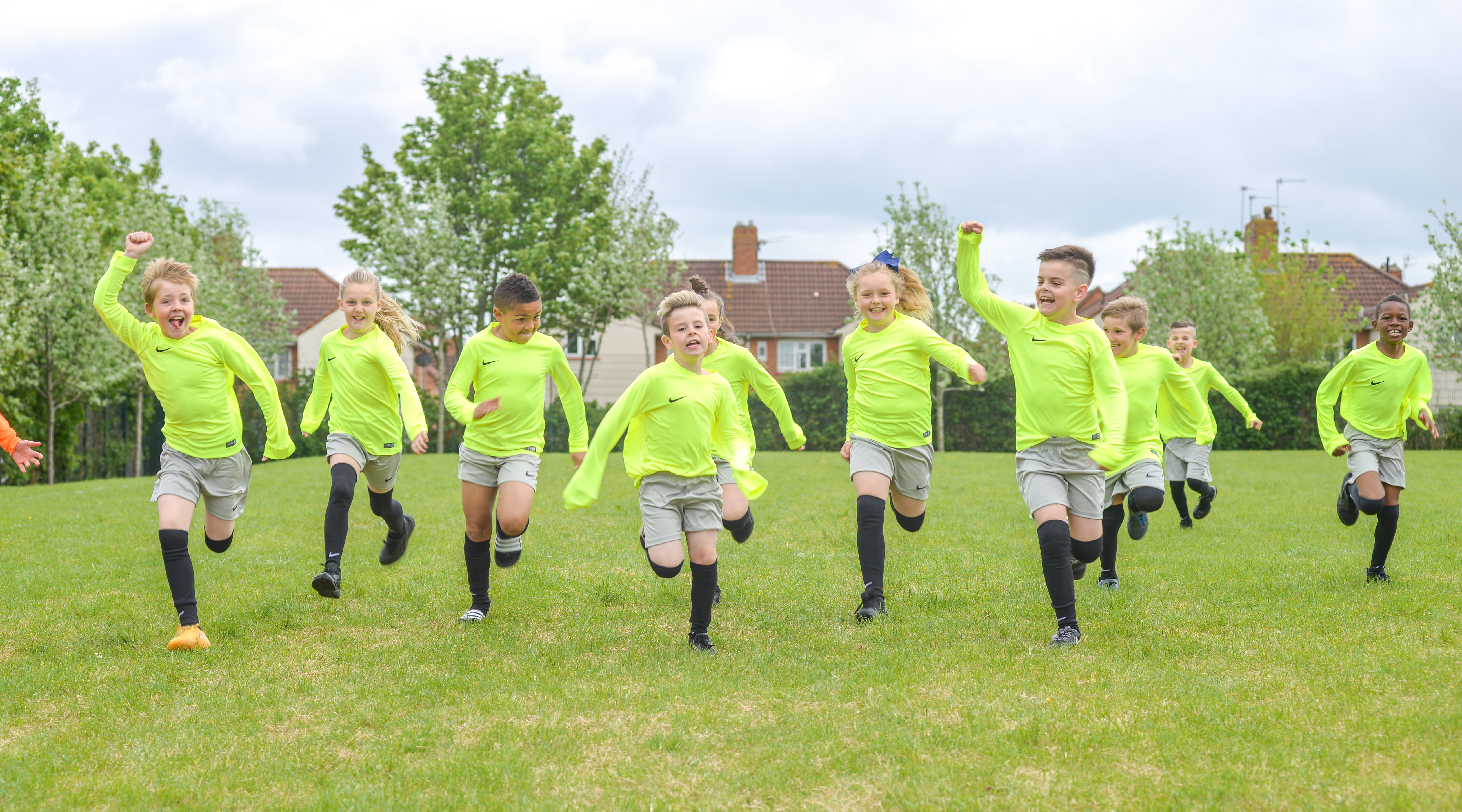Connaught pupils' match reports wins a visit from the FA Cup trophy